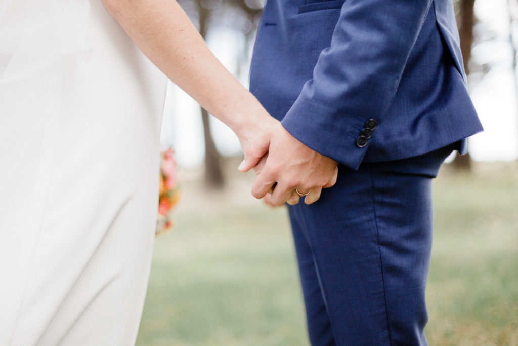 jeunes mariés détail