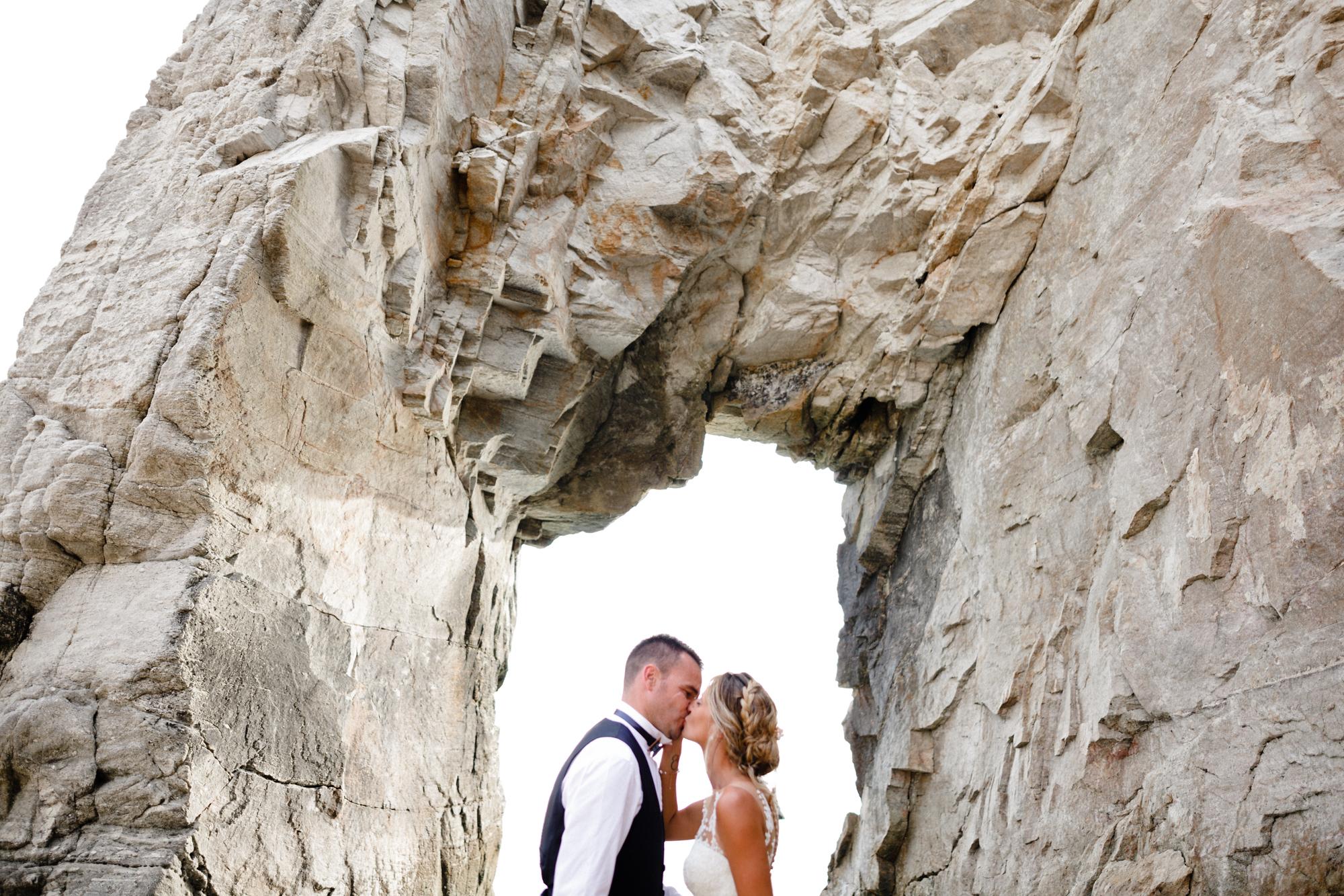 Gaëlle & Fabien, un mariage à Quiberon
