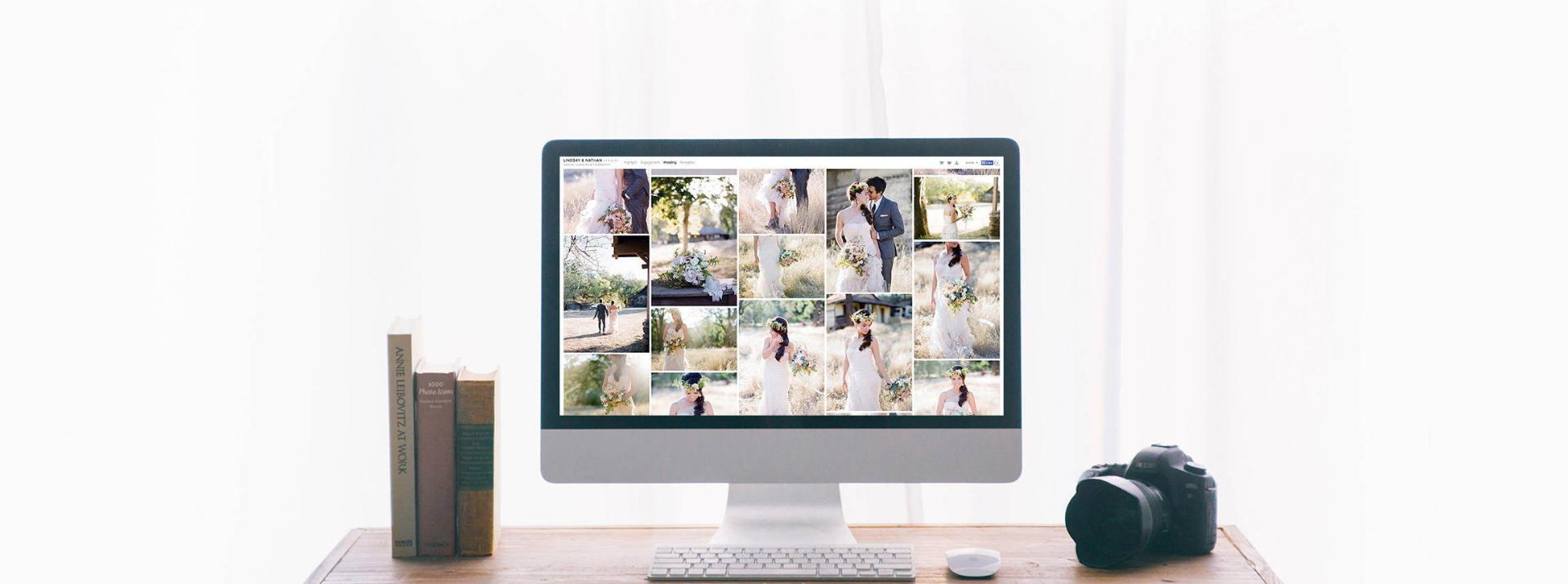 Le téléchargement de la galerie photo de votre mariage