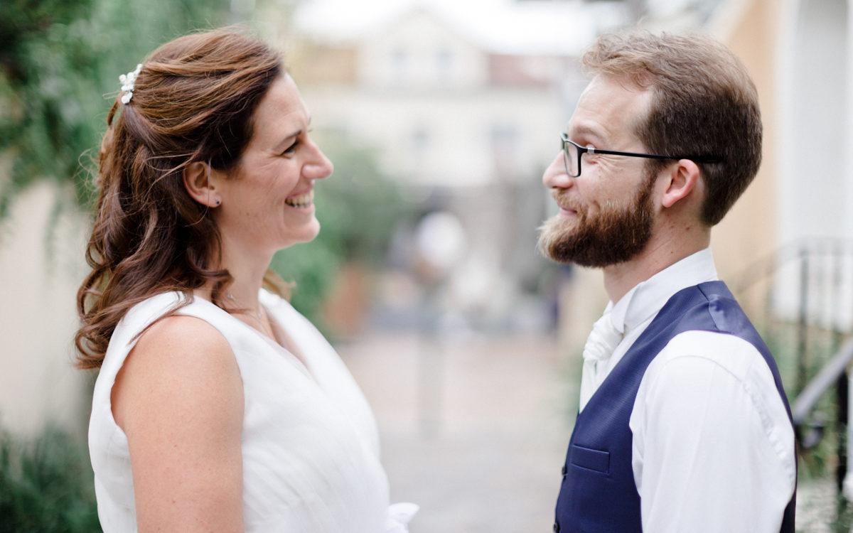 Un shooting couple en ville