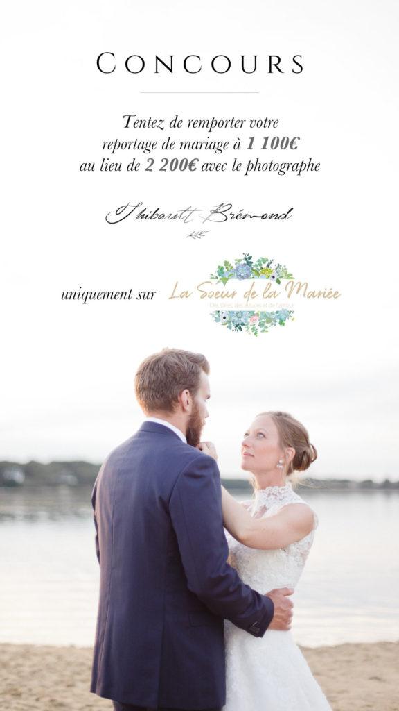 Concours photographe de mariage en Bretagne sur le blog La soeur de la mariée.