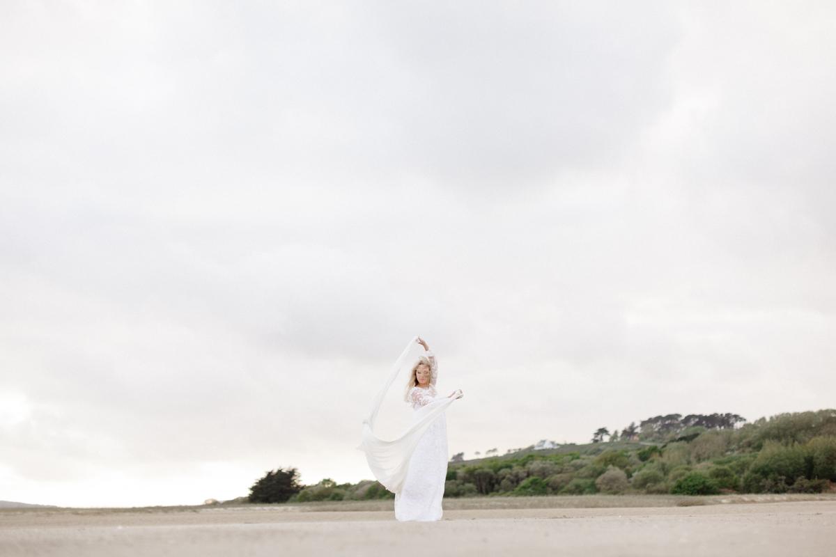 Ecofriendly styled shoot à la plage de l'Aber