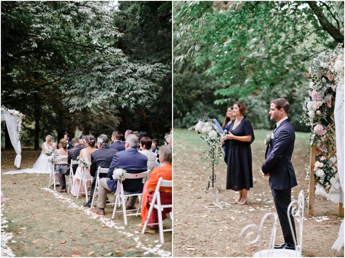 Mariage franco-australien au manoir d'Alexandre. Franco-Australian wedding at Manoir d'Alexandre.