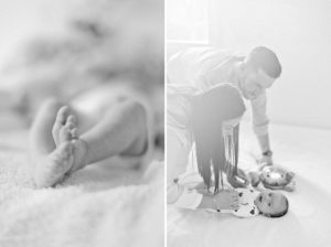 Wedding photographer. Newborn photoshoot.
