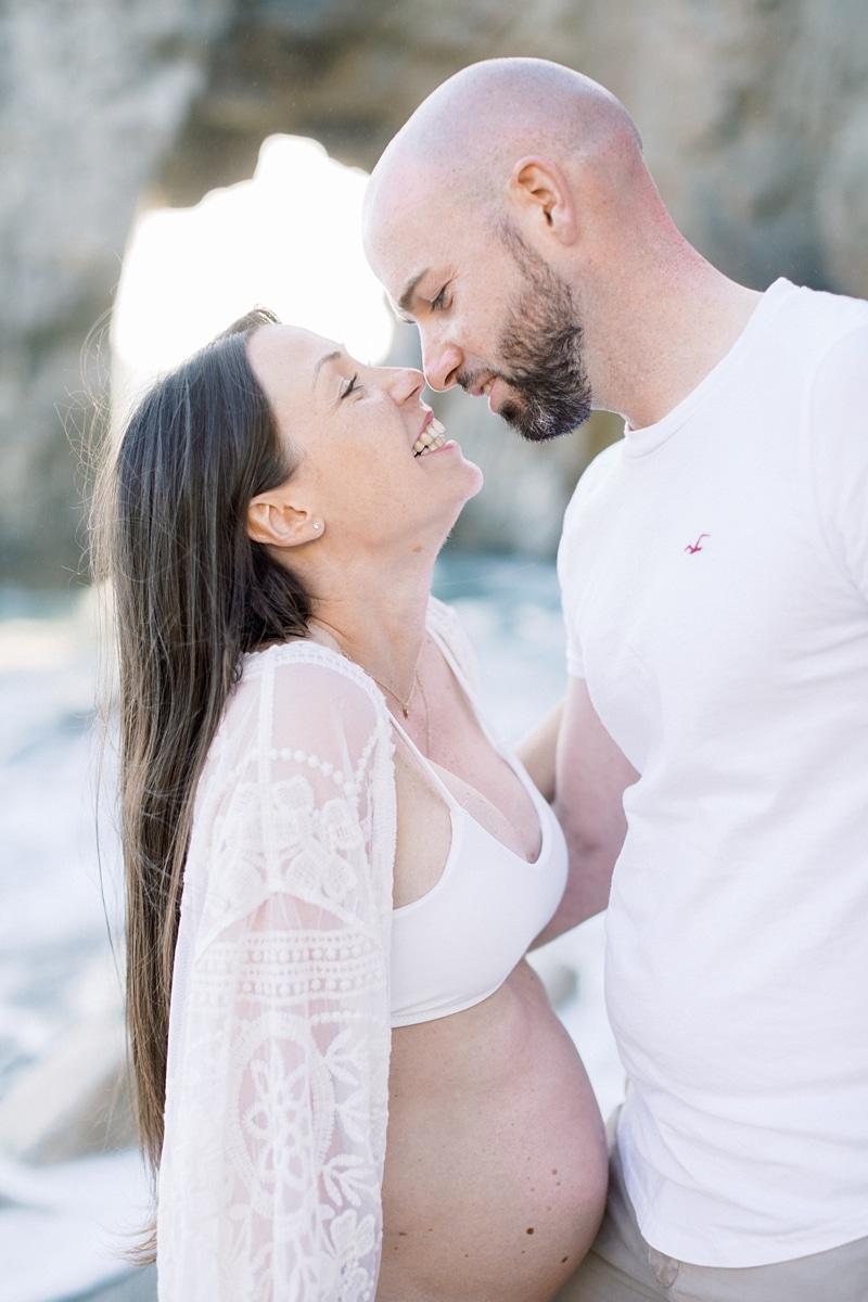 Shooting grossesse avec Estelle & Adrien